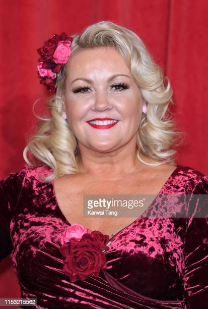 Lisa George attends the British Soap Awards at The Lowry Theatre on June 01 2019 in Manchester England