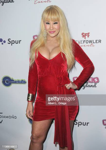 """Lisa Gleave arrives for the 5th Annual Babes In Toyland """"Pet Edition"""" Benefiting Barks Of Love held at Avalon Hollywood on March 27, 2019 in Los..."""