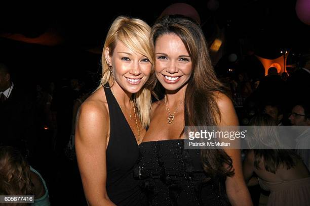 Lisa Gleaze and Alejandra Gutierrez attend 55th Annual Mrs Universe Competition at The Shrine Auditorium on July 23 2006
