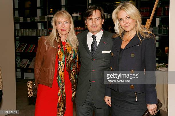 Lisa Guest Baron Jean van Gysel and Cornelia Guest attend BARON JEAN VAN GYSEL and RICHARD STEINBERG host a Cocktail Party for V GREECE ON THE WORLD...