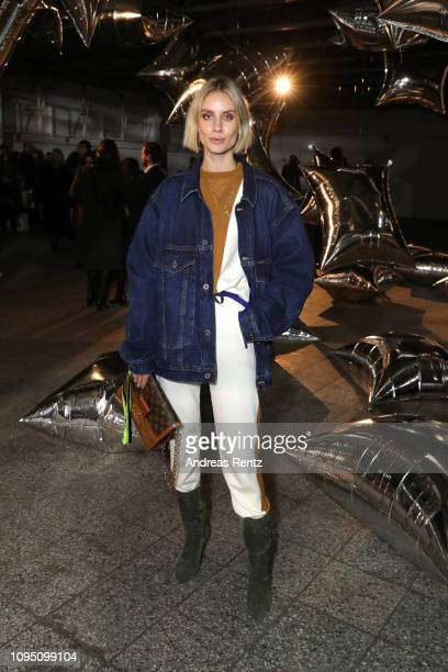 Lisa Hahnbueck attends the Dawid Tomaszewski Defile during the Berlin Fashion Week Autumn/Winter 2019 on January 16 2019 in Berlin Germany