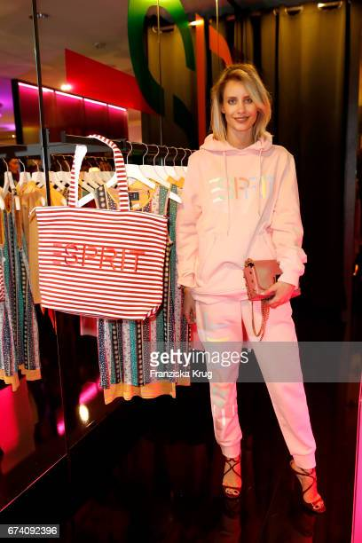 Lisa Hahnbueck attends the KaDeWe Launch Event 'Esprit by Opening Ceremony' on April 27 2017 in Berlin Germany