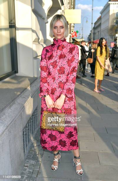 Lisa Hahnbueck during the opening of the new Kate Spade New York boutique store on April 16, 2019 in Munich, Germany. This store marks Kate Spade New...