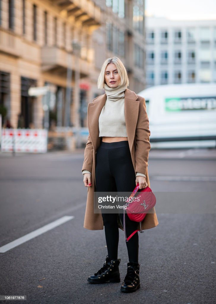 Street Style - Berlin - November 15, 2018 : Fotografía de noticias