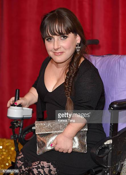 Lisa Hammond attends the British Soap Awards at Manchester Palace Theatre on May 16 2015 in Manchester England