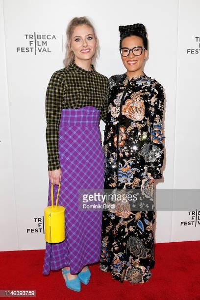 Lisa Hanawalt and Ali Wong attend the Tribeca TV Tuca Bertie during 2019 Tribeca Film Festival at Spring Studio on May 01 2019 in New York City
