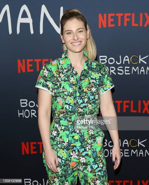 Lisa Hanawalt attends the Los Angeles premiere of Netflix's Bojack Horseman Season 6 held at the Egyptian Theatre on January 30 2020 in Hollywood...