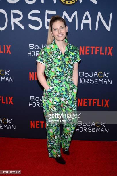 Lisa Hanawalt attends the premiere of Netflix's Bojack Horseman Season 6 at the Egyptian Theatre on January 30 2020 in Hollywood California