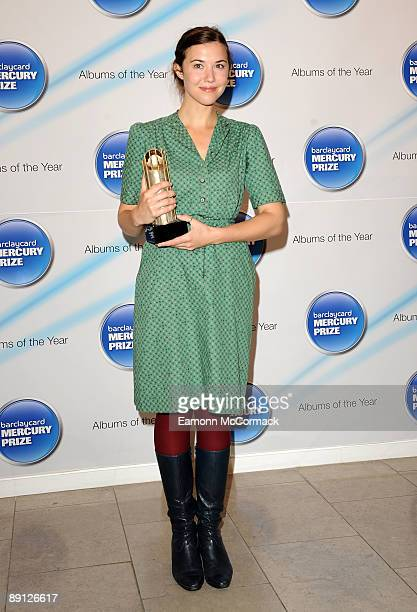 Lisa Hannigan attends the nominations for the 2009 Barclaycard Mercury Prize at The Hospital on July 21 2009 in London England