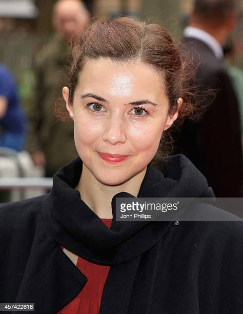 Lisa Hannigan attends the red carpet arrivals of Song Of The Sea during the 58th BFI London Film Festival at Odeon West End on October 18 2014 in...