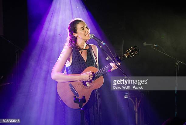 Lisa Hannigan opens for The Divine Comedy during Pias Nites at La Maroquinerie on September 12, 2016 in Paris, France.