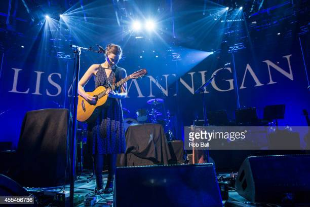 Lisa Hannigan performs as part of the iTunes Festival at The Roundhouse on September 14, 2014 in London, England.