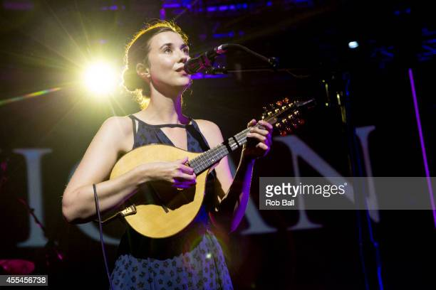 Lisa Hannigan performs as part of the iTunes Festival at The Roundhouse on September 14 2014 in London England