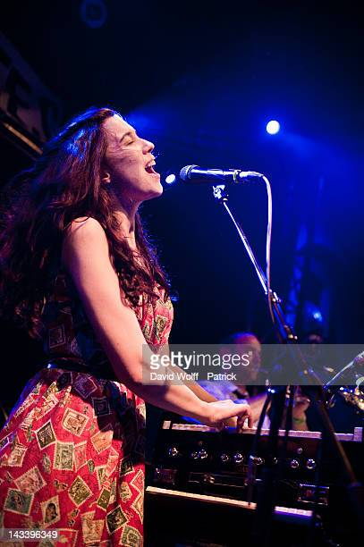 Lisa Hannigan performs at La Fleche d'Or on April 25 2012 in Paris France