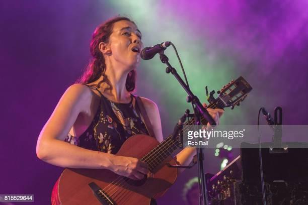 Lisa Hannigan performs at Latitude Festival at Henham Park Estate on July 16 2017 in Southwold England