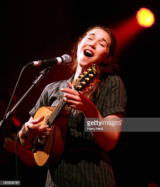 Lisa Hannigan performs at Portsmouth Pyramids on September 18 2012 in Portsmouth England