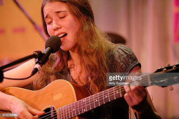 Lisa Hannigan performs at Tribeca/ASCAP Music Lounge at the Canal Room May 3 2006 in New York