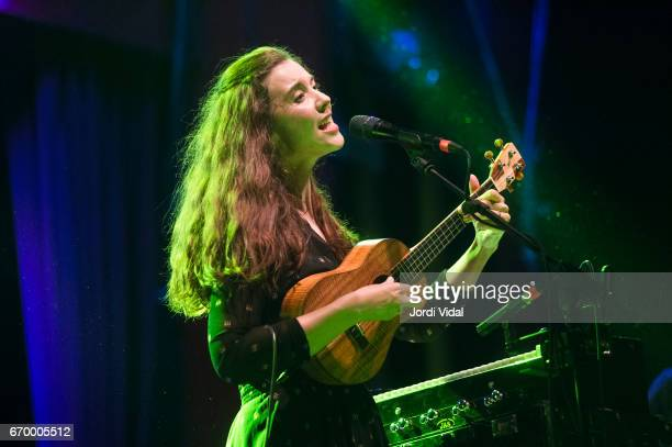 Lisa Hannigan performs on stage at Sala Apolo on April 18 2017 in Barcelona Spain