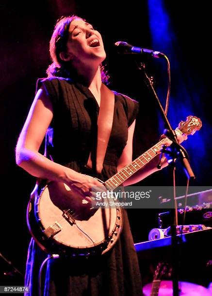 Lisa Hannigan performs on stage at Shepherds Bush Empire on May 13 2009 in London England