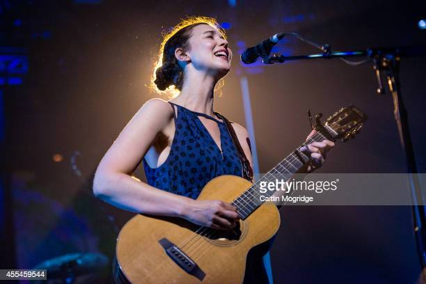 Lisa Hannigan performs on stage for iTunes Festival at The Roundhouse on September 14 2014 in London United Kingdom