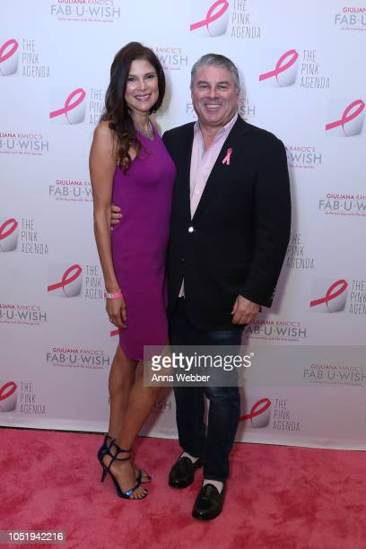 Lisa Harbert and Ted Harbert attend The Pink Agenda's Annual Gala at Tribeca Rooftop on October 11 2018 in New York City