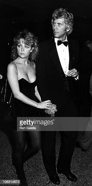Lisa Hartman and Barry Bostwick during Night of 100 Stars Gala April 14 1982 at Beverly Hilton Hotel in Beverly Hills California United States