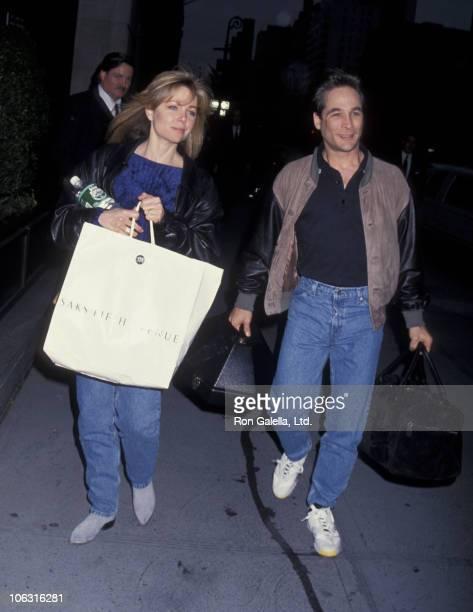 Lisa Hartman and Clint Black during Lisa Hartman and Clint Black Sighting at the Regency Hotel May 4 1993 at Regency Hotel in New York City New York...