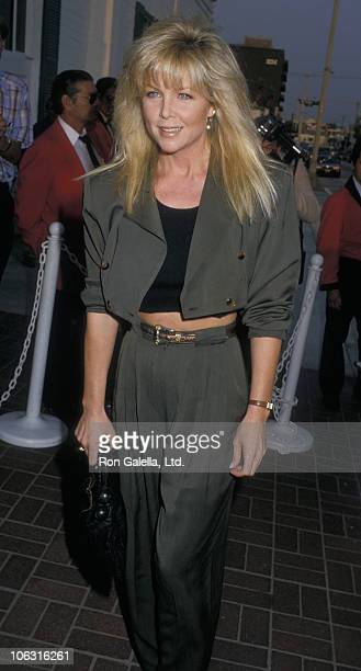 Lisa Hartman during Lisa Hartman Sighting at Chasen's Restaurant September 14 1987 at Chasen's Restaurant in Beverly Hills California United States