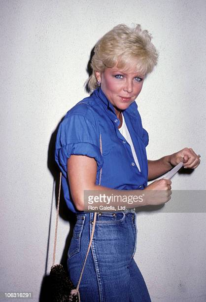 Lisa Hartman during Lisa Hartman Sighting at Chasen's Restaurant August 30 1983 at Chasen's Restaurant in Beverly Hills California United States
