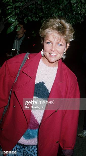 Lisa Hartman during Lisa Hartman Sighting at Spago Restaurant December 1 1983 at Spago in West Hollywood California United States