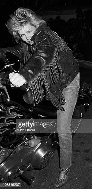 Lisa Hartman during Lisa Hartman Sighting at Spago Restaurant February 11 1985 at Spago in West Hollywood California United States