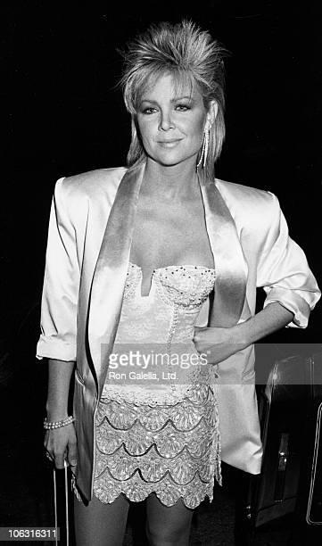 Lisa Hartman during Lisa Hartman Sighting at Spago Restaurant January 5 1985 at Spago in West Hollywood California United States