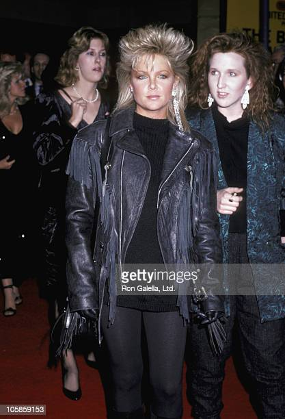 Lisa Hartman during 'Rocky IV' Los Angeles Premiere at Westwood Village Theater in Los Angeles California United States