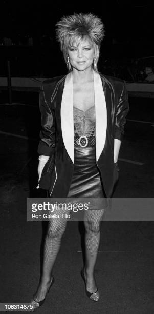 Lisa Hartman during Teachers Los Angeles Premiere at MGM Studios in Culver City California United States