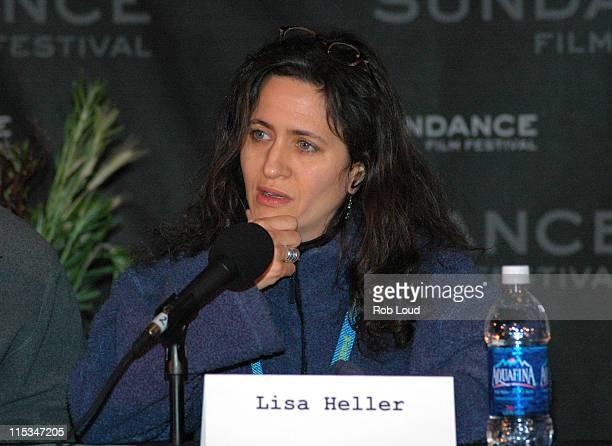 Lisa Heller during 2006 Sundance Film Festival From The Multiplex to the Living Room at Filmmaker's Lodge in Park City Utah United States