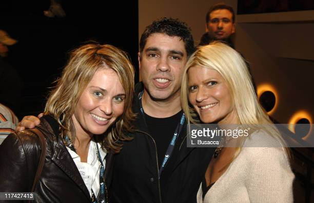 Lisa Hirsch Gary Dell'Abate and lizzie Grubman during Howard Stern Last Day Live Event Inside at Hard Rock Cafe Times Square in New York City New...