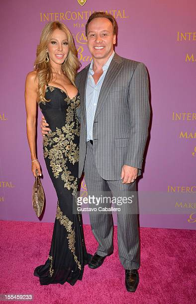 Lisa Hochstein and DrLeonard Hochstein arrives at 18th Annual InterContinental Miami MakeAWish Ball at Hotel intercontinental on November 3 2012 in...