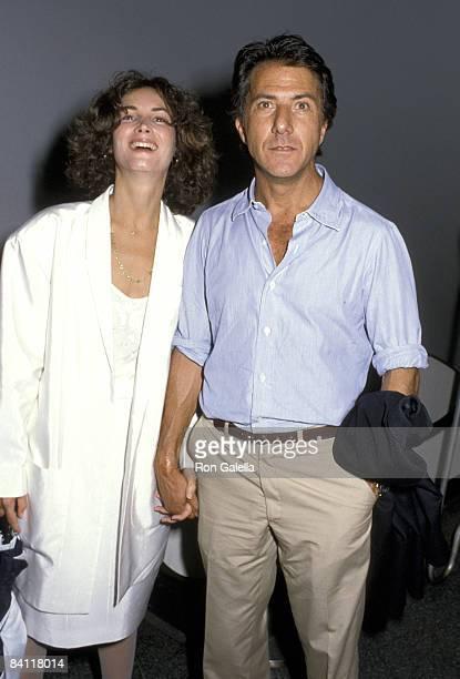 Lisa Hoffman and Dustin Hoffman