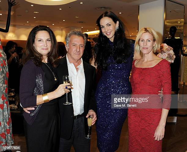 Lisa Hoffman Dustin Hoffman L'Wren Scott and Sydney IngleFinch attend the launch of L'Wren Scott's A/W 2011 collection with a special preview of her...