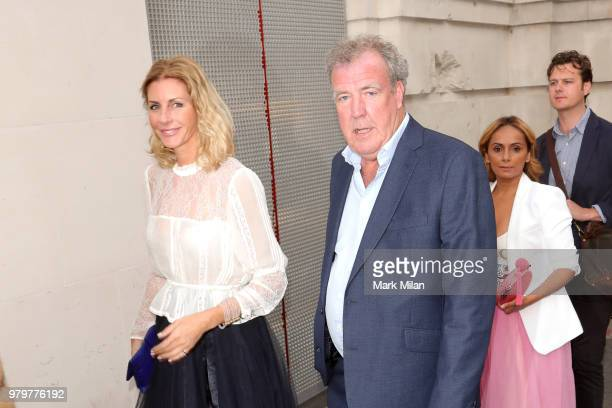 Lisa Hogan and Jeremy Clarkson attending The Victoria and Albert Museum Summer Party on June 20 2018 in London England