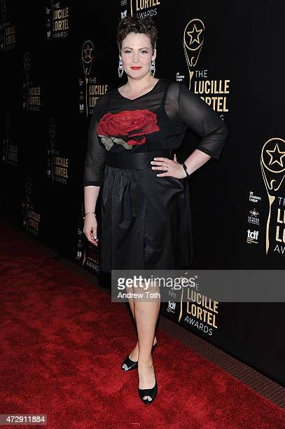 Lisa Howard attends the 30th Annual Lucille Lortel Awards at NYU Skirball Center on May 10 2015 in New York City