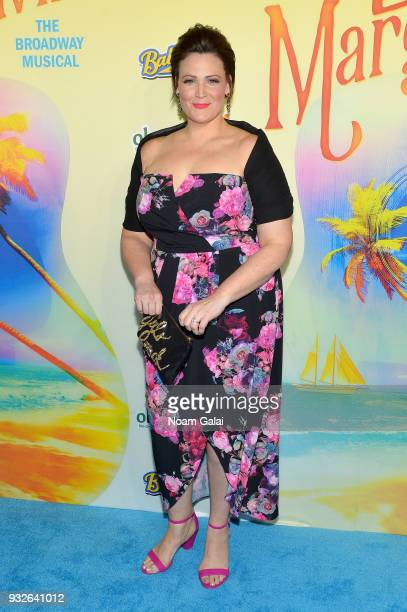 Lisa Howard attends the Broadway premiere of 'Escape to Margaritaville' the new musical featuring songs by Jimmy Buffett at the Marquis Theatre on...