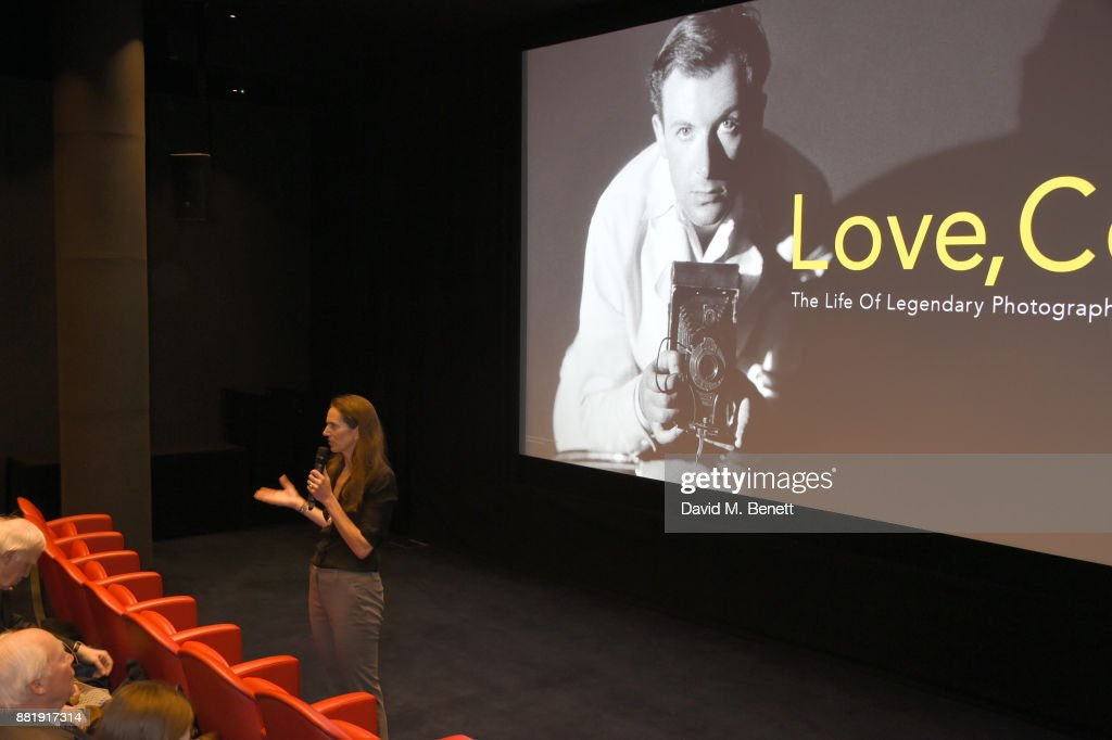 Lisa Immordino Vreeland attends the LOVE, CECIL special preview screening with director Lisa Immordino Vreeland at Soho Hotel on November 29, 2017 in London, England.