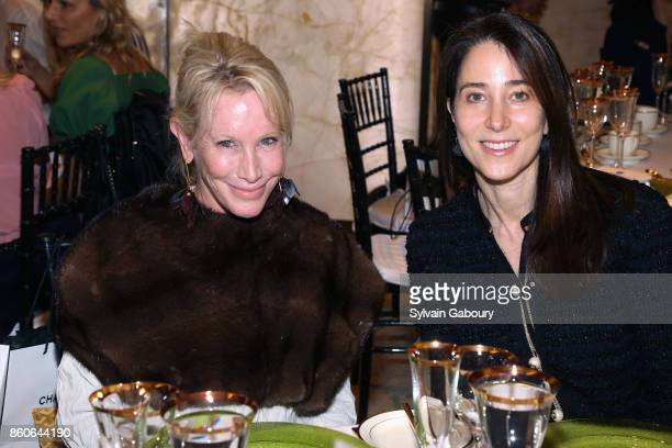 Lisa Jackson and Stacey Bronfman attend Saks Fifth Avenue Luncheon to Benefit City Harvest at Saks Fifth Avenue on October 12 2017 in New York City