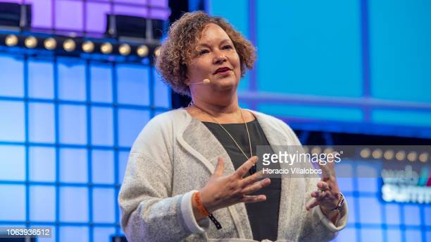 Lisa Jackson Apple Vice President of Environment Policy and Social Initiatives delivers remarks on Apple Business doing well by doing good on the...