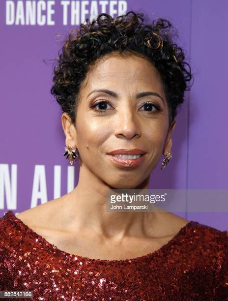Lisa Johnson Willingham attends Alvin Ailey's 2017 opening night Gala at New York City Center on November 29 2017 in New York City