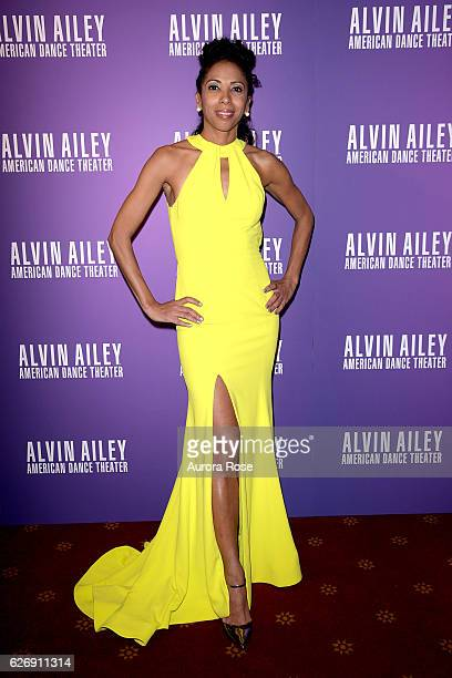 Lisa JohnsonWillingham attends Alvin Ailey American Dance Theater Opening Night Gala Benefit 'An Evening of Ailey and Jazz' at New York City Center...