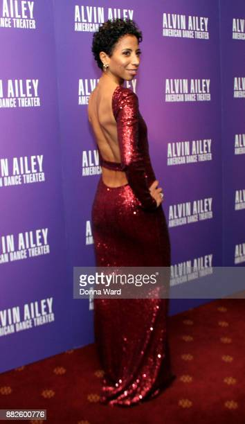Lisa JohnsonWillingham attends Alvin Ailey's 2017 Opening Night Gala at New York City Center on November 29 2017 in New York City
