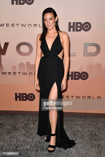 Lisa Joy attends the Premiere of HBO's Westworld Season 3 at TCL Chinese Theatre on March 05 2020 in Hollywood California