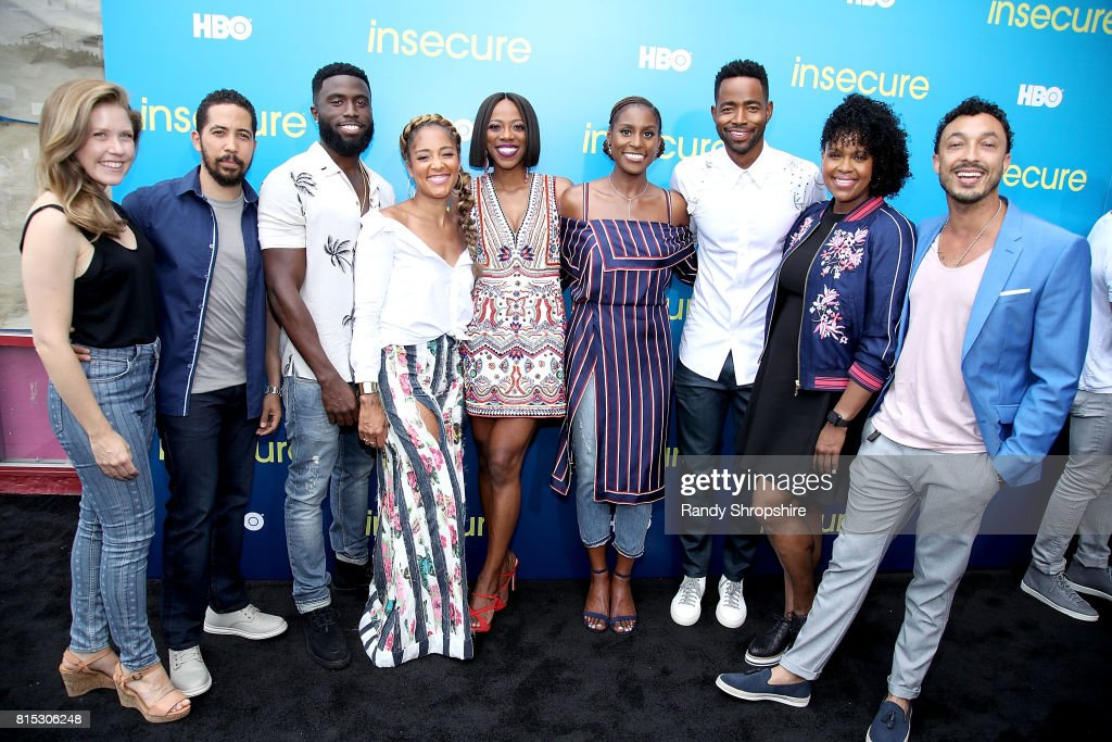 """HBO Celebrates New Season Of """"Insecure"""" With Block Party In Inglewood : News Photo"""